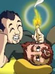 dessin-gay-bear-couple-a-la-lueur-d-une-bougie