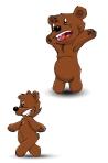 ourson joyeux