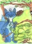 renard bleu