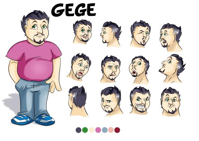 modele sheet gege